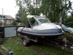 Продам комплект лодка солар 380 мотор 9.9 (15) и прицеп