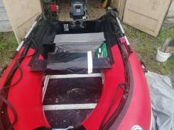 Продам комплект лодка3. 1м+мотор 9.8 микатсу 2017г. Без прицепа.