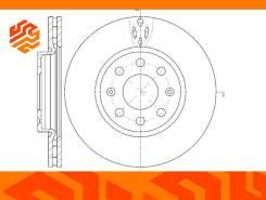 Диск тормозной вентилируемый G-Brake GR20425