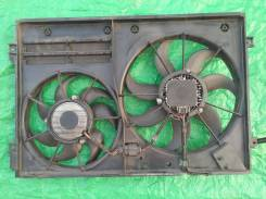Диффузор с вентиляторами Шкода Октавия А5 RS