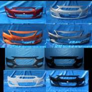 Бампер передний в цвет кузова Hyundai Solaris/Solaris 2 [2011-2020 г. ]
