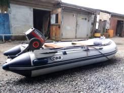 Продам лодку ПВХ, с мотором Ymaha 8