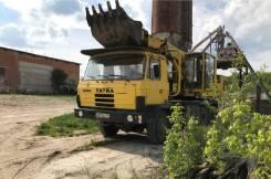 Экскаватор планировщик Tatra UDS-114, В г. Венёве, 1985