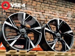 NEW! В Наличии! Топовые! # Audi R20 Black Polish Face [VSE-4]