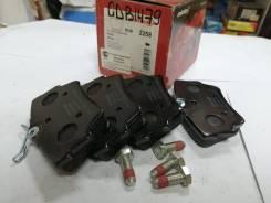 Комплект задних тормозных колодок opel/renault