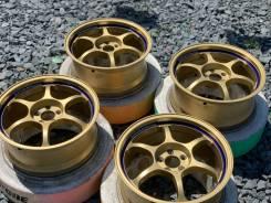 Вес 6,8кг Японские Брендовые Лёгкие Advan Racing GOLD R17