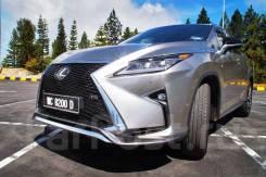 Обвес передний F-Sport на Lexus RX 350/450h/200t 2015+