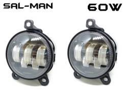 Противотуманные фары LED Chevrolet Niva 2009-2020г