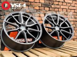 NEW! Разноширокий! # Vossen HF3 R19 8,5-9,5J 5x114,3 MATT Grey [VSE-4]