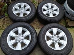 Комплект колес 265/65/17 Toyota бесплатная доставка до ТК