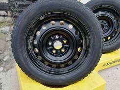 Комплект колёс штамповки 5х114,3 ет39 +шины yokohama 205-60R16