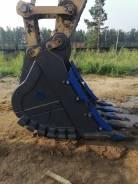 Скальный усиленный ковш RCH-2.1,4 для Doosan DX300