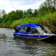 Моторная лодка Русбот с водомётом
