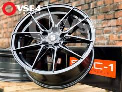 NEW! # KOKO Kuture SL525 R18 8J 5x108 Dark Grey [VSE-4]