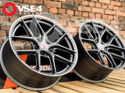 NEW! Разноширокий! # HRE Performance P101SC R18 Gun Grey [VSE-4]