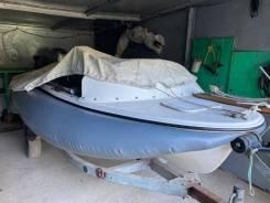 Лодка пластиковая Yamaha, мотор Honda, картплотер, прицеп