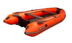 """Лодка ПВХ """"Хатанга Jet-475"""" НДНД (Оранжево-черный)"""