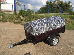 Легковой прицеп «Дачник» тент 35 см от Telega38 в Иркутске