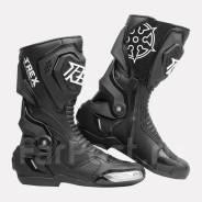 Мотоботы RYO Racing T-REX высокие черный размеры 39/40/41/42/43/44/45