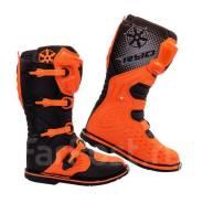 Мотоботы RYO Racing MX3 оранжевый размеры 39/40/41/42/43/44/45/46
