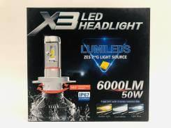 Лампа LED HB3 комплект Гарантия Опт