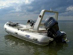 Риб Achilles 500AC + двигатель Yamaha F50FET + прицеп Трейлер