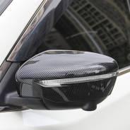 Накладки на зеркало Nissan Qashqai/ X-Trail/ Juke 2014+ карбон