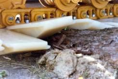 Пластиковые траки на экскаватор или бульдозер