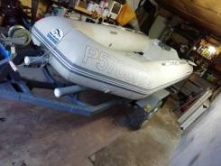 Лодка баракуда длина3,4м, мотор тохатсу, бак, плюс телега