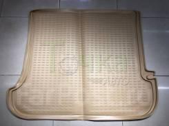 Модельный коврик в багажник для Toyota Land Cruiser Prado 120 бежевый