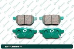 Колодки тормозные RR Toyota Prius ZVW30 09- G-Brake GP02254, правый задний