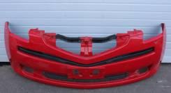 Бампер передний Toyota Ractis NCP100 2005~2007 год. Красный.