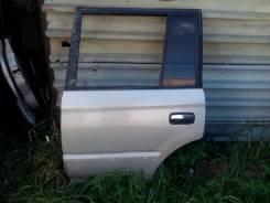 Дверь Toyota LAND Cruiser Prado, левая задняя кузов 90-95