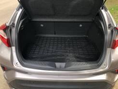 Коврик в багажник Toyota C-HR 2016- (полиуретан)