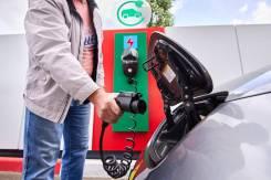 Зарядная станция WallBoxBlack eCars для электромобилей Nissan Leaf
