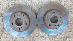 Тормозные диски перед (ПАРА 282х23мм) на Honda Stepwgn RF5