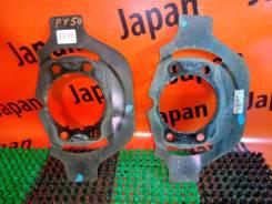 Щиток тормозного диска Nissan Fuga PY50, передние
