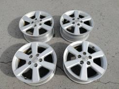 Оригинальные литые диски Toyota R16, 5/114 Made in Japan