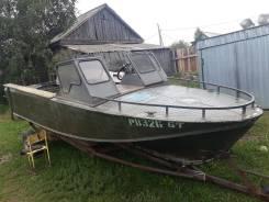 Продается моторная лодка Казанка 2м