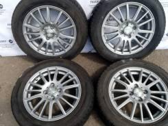 Комплект литых дисков Weds на шинах 175/65R15 Goodyear