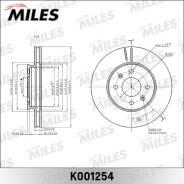 Диск тормозной KIA RIO III 11-/Hyundai Solaris 10- передний D=256мм. (TRW DF6198) K001254 Miles K001254