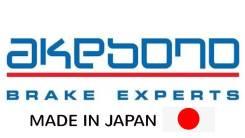 Колодки тормозные передние Akebono AN671K Lexus/Toyota