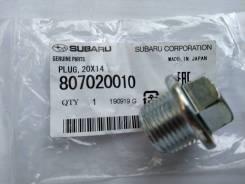Пробка сливная поддона двигателя Subaru (оригинал)