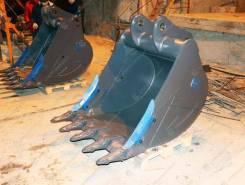 Ковш усиленный с протекторами (1,0 м3)нож HB400 для экскаваторов 18-2