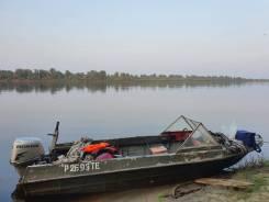 Продам лодку крым с лодочным мотором honda 30 2011 г. в.