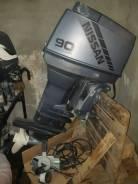 Лодочный мотор ниссан(тохатсу) -90 л. с. 2 х. т.