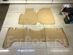 Модельные коврики в салон для Toyota Land Cruiser 100 1998-2007 беж