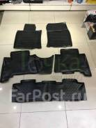 Модельные коврики в салон для Toyota Land Cruiser Prado 2009-2013 7м