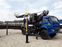 Автовышка NOVAS-460 на шасси КамАЗ-43118 (6 х 6), 2020
