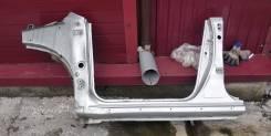 Порог левый Toyota Voltz ZZE138 1ZZ-FE 4wd 2002г